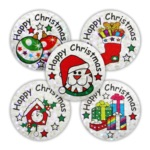 Christmas Sparkling stickers