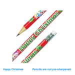 Crayon à papier Happy Christmas
