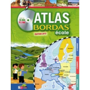 Atlas Bordas Ecole avec CD-ROM (PC & Mac)