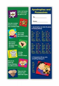 Apostrophes and possessives bookmark