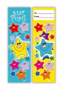 Star pupil bookmark