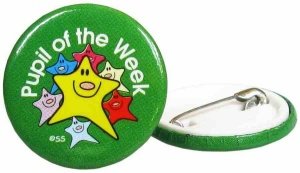 Pupil of the week Badge