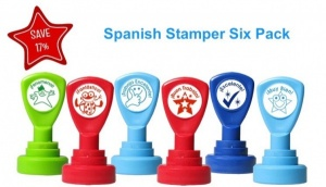 Spanish Stamper 6 pack No.1